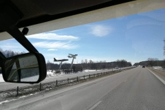 Passing Linköping .. the proud city of making fighterplanes